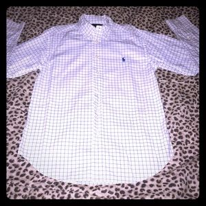 Boys Ralph Lauren long sleeve button down